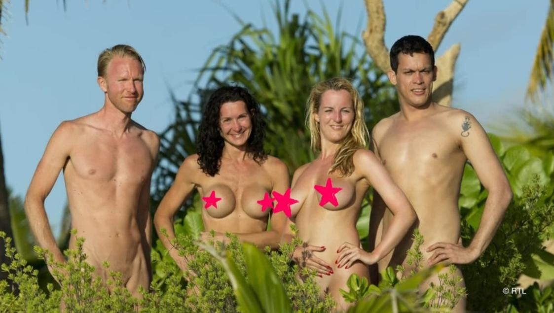 Nackt in der Natur Nudisten feiern WorldNakedGardeningDay