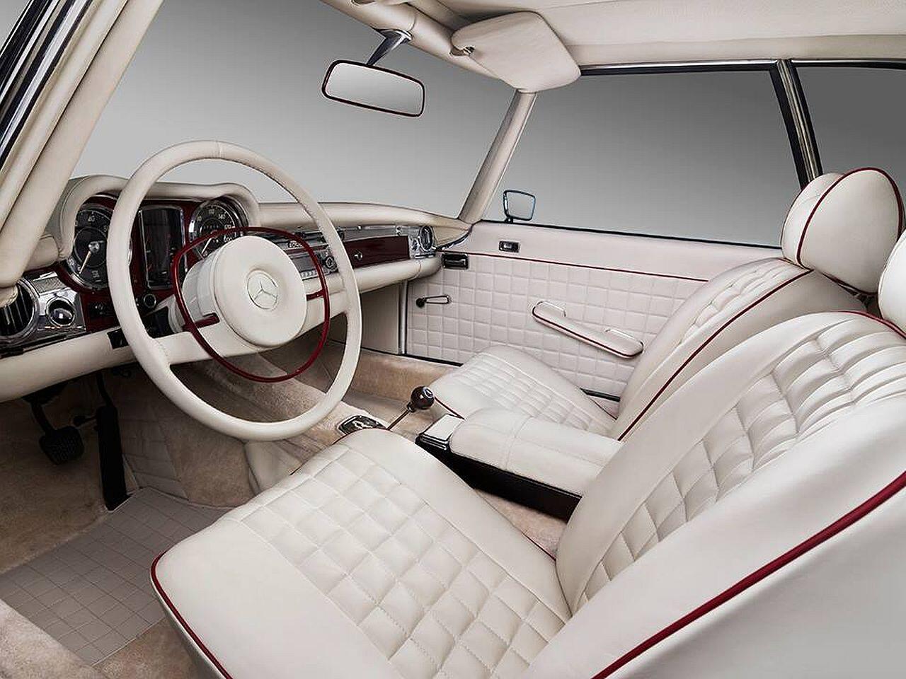 Bild zu Die Kabine des Mercedes 280 SL wurde rundum erneuert