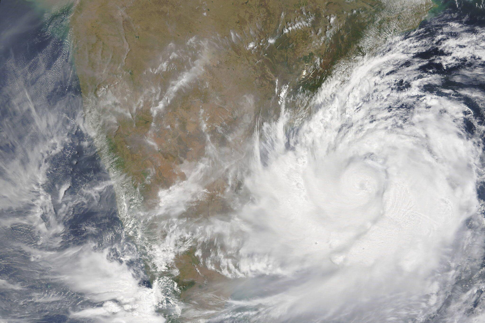 Bild zu Zyklon «Fani»