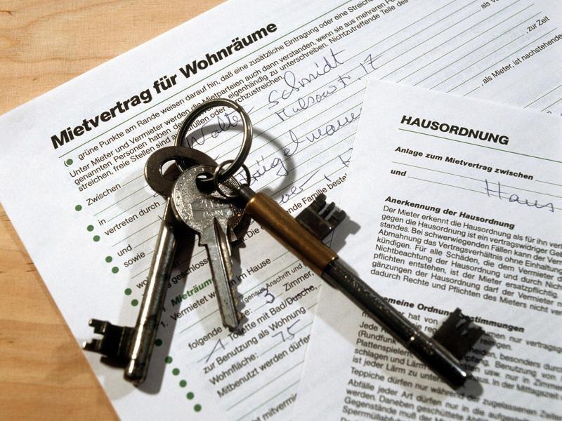 Bild zu Mietvertrag für Wohnräume