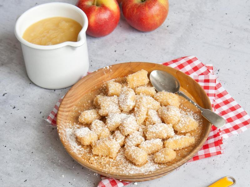 Bild zu Gnocchi mit Apfelmus