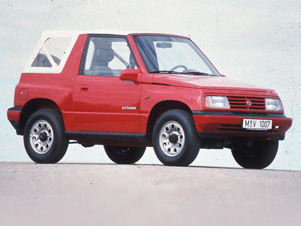 Bild zu Platz 6: Suzuki Vitara