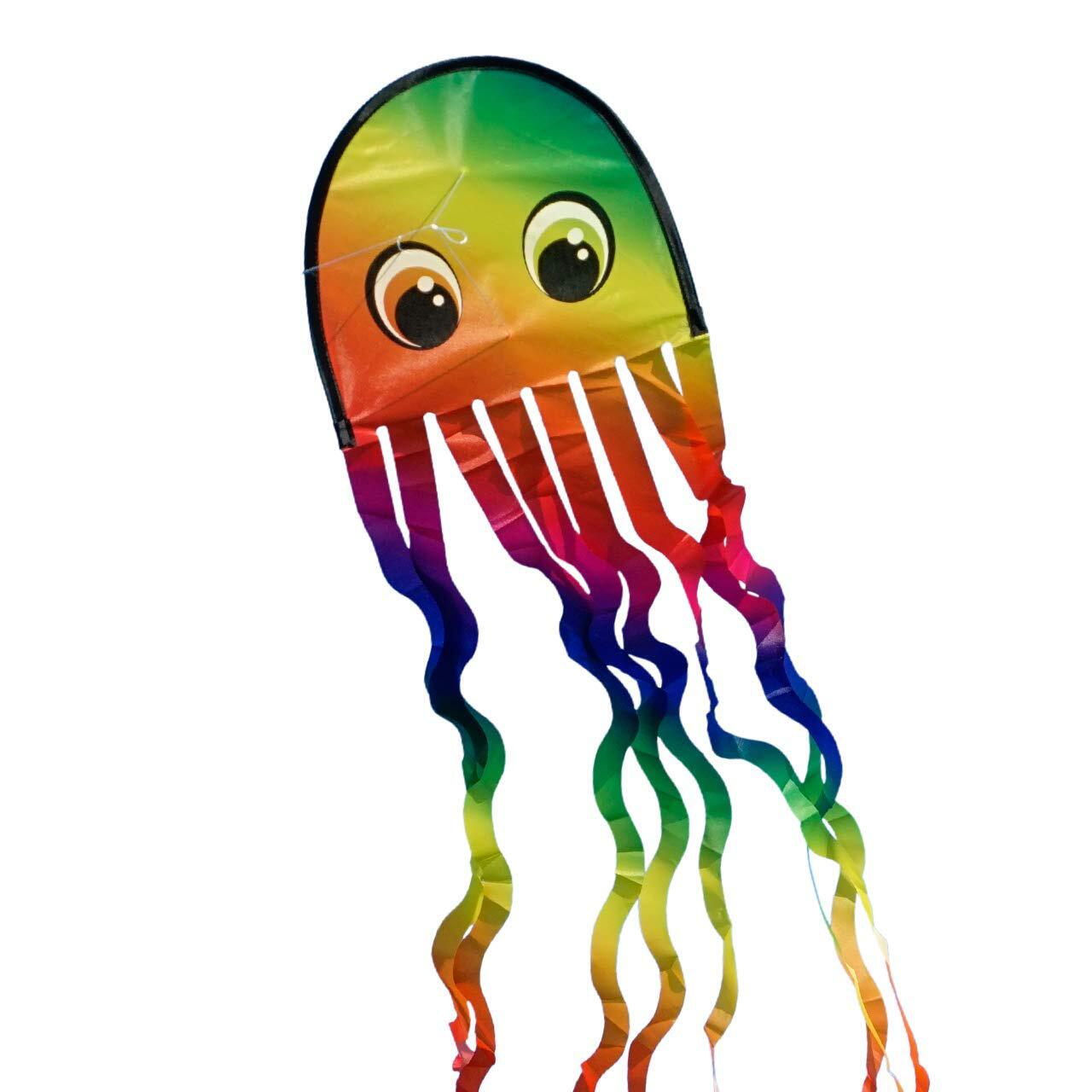 Bild zu drache, 3d, basteln, set, modell, rainbow, lenkdrache, muster