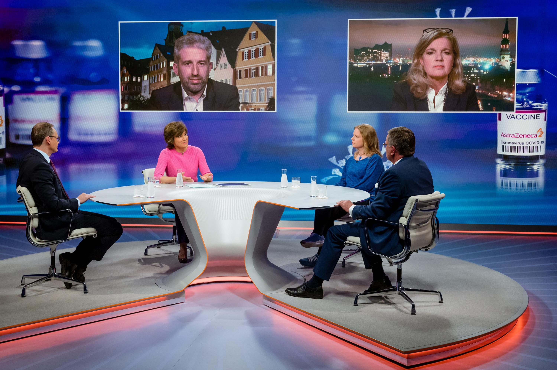 Bild zu Bei Maybrit Illner diskutierten die Gäste zur Abwechslung sachorientiert.