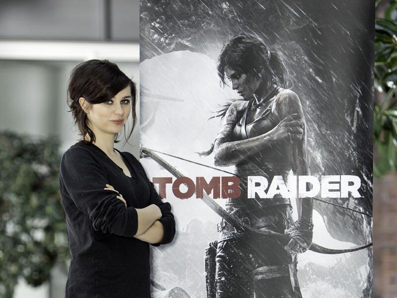 Bild zu Nora Tschirner spricht Lara Croft