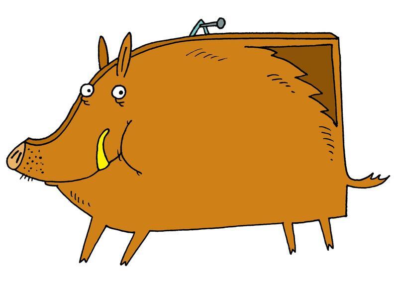 Bild zu Das Bildschwein