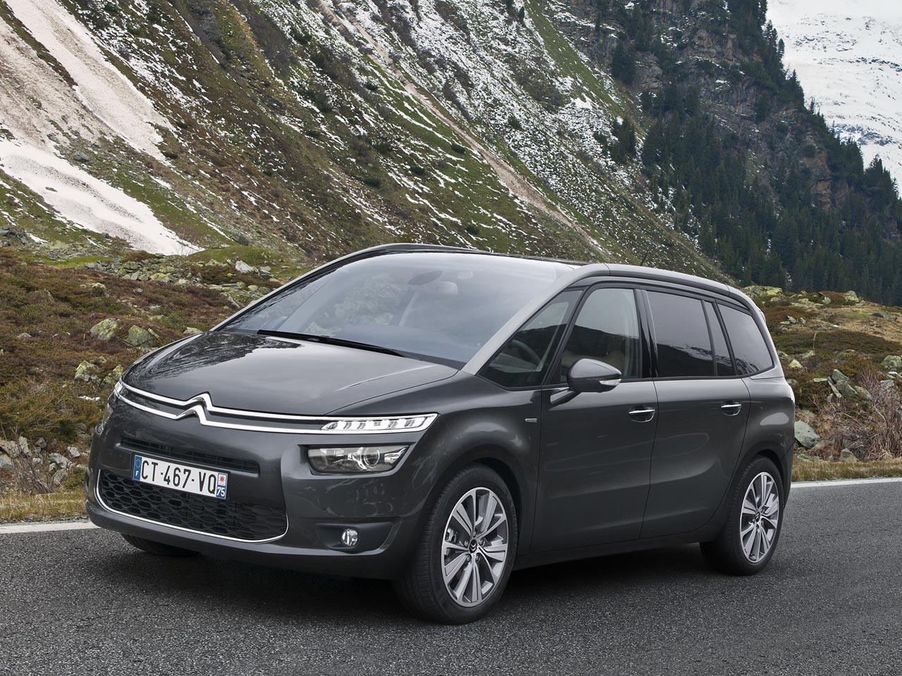 Bild zu 10. Platz: Citroën Grand C4 Picasso