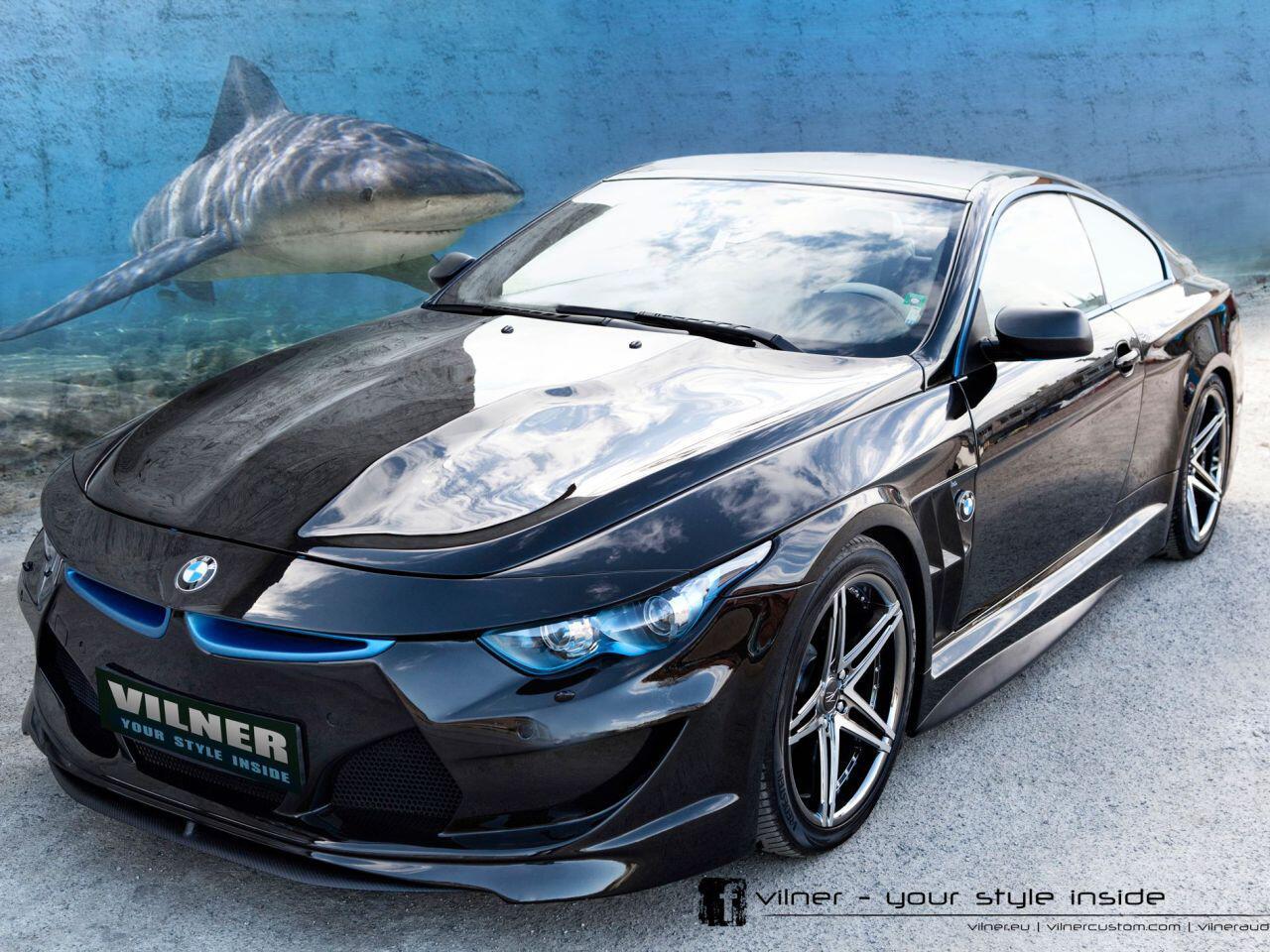 """Bild zu Tuning kann so schön sein: Der BMW """"Bullshark"""" von Vilner ist ein Meisterwerk"""