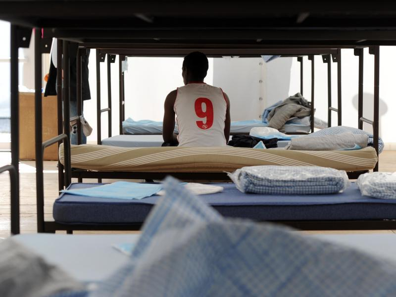 Bild zu Leere Flüchtlingsunterkunft