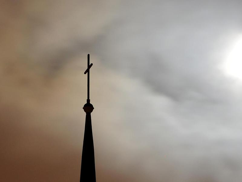 Bild zu Kirchturmspitze