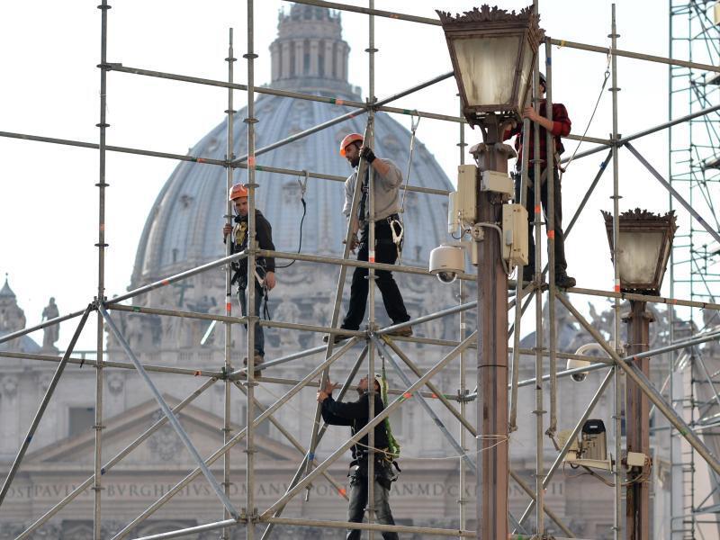 Bild zu Baustelle in Rom am Vatikan