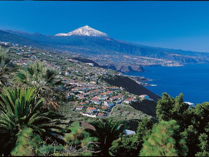 Bild zu Panoramahafter Blick auf Teneriffa