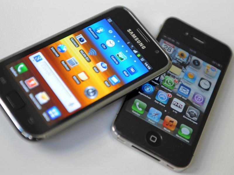 Bild zu Patentprozess von Apple und Samsung