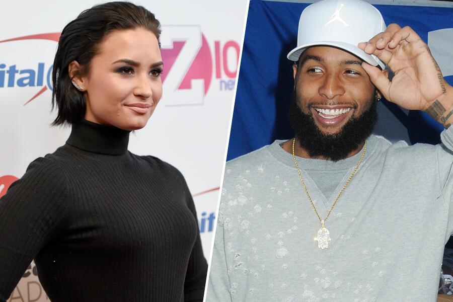 Bild zu Liebt Demi Lovato Odell Beckham Junior?
