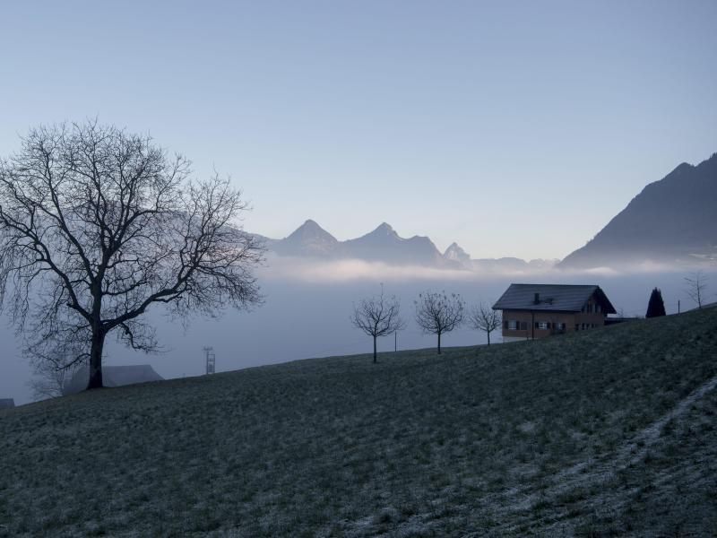 Bild zu Schweizer Winterlandschaft