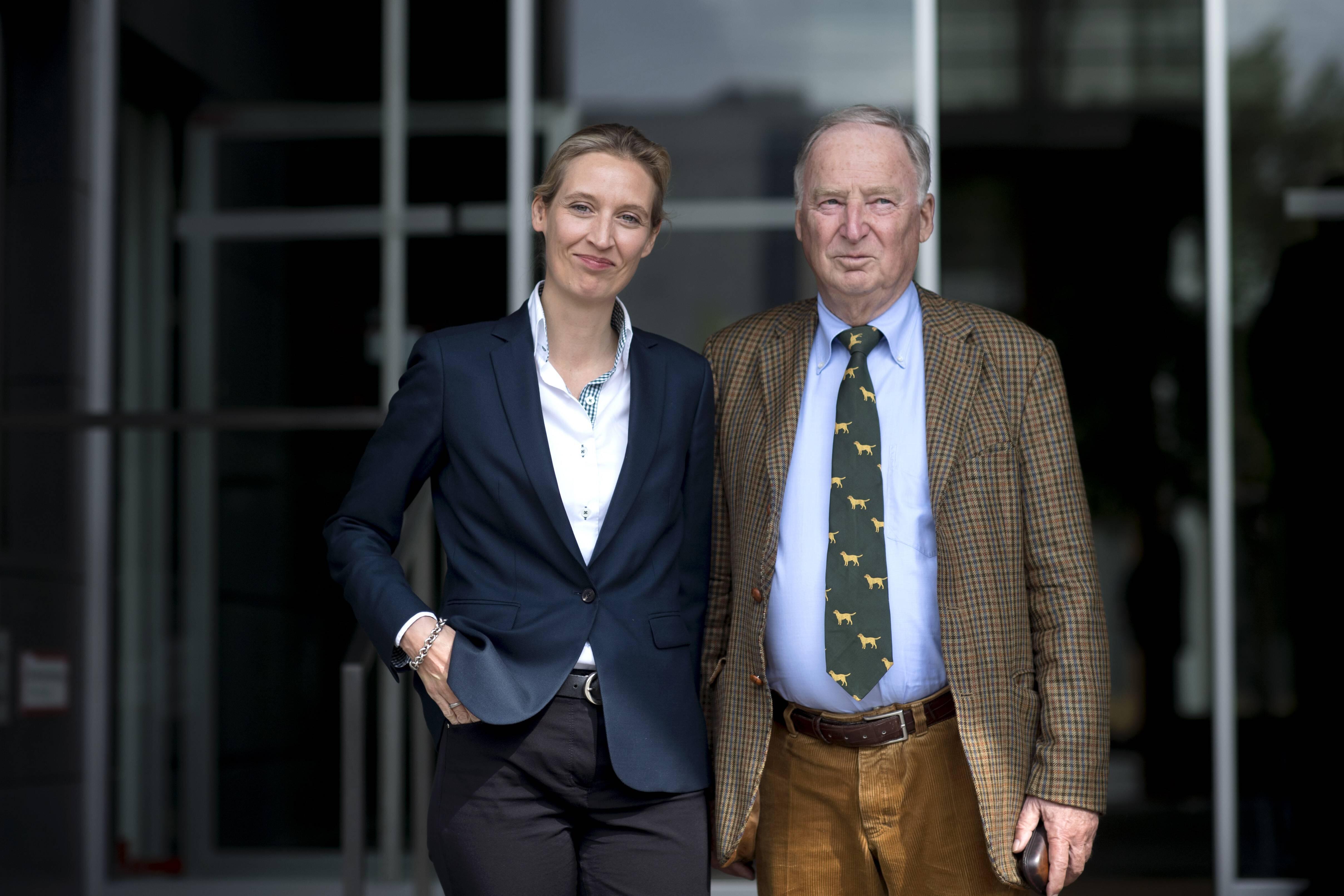 Bild zu Alexander Gauland, AfD, Alice Weidel, Bundestagswahl