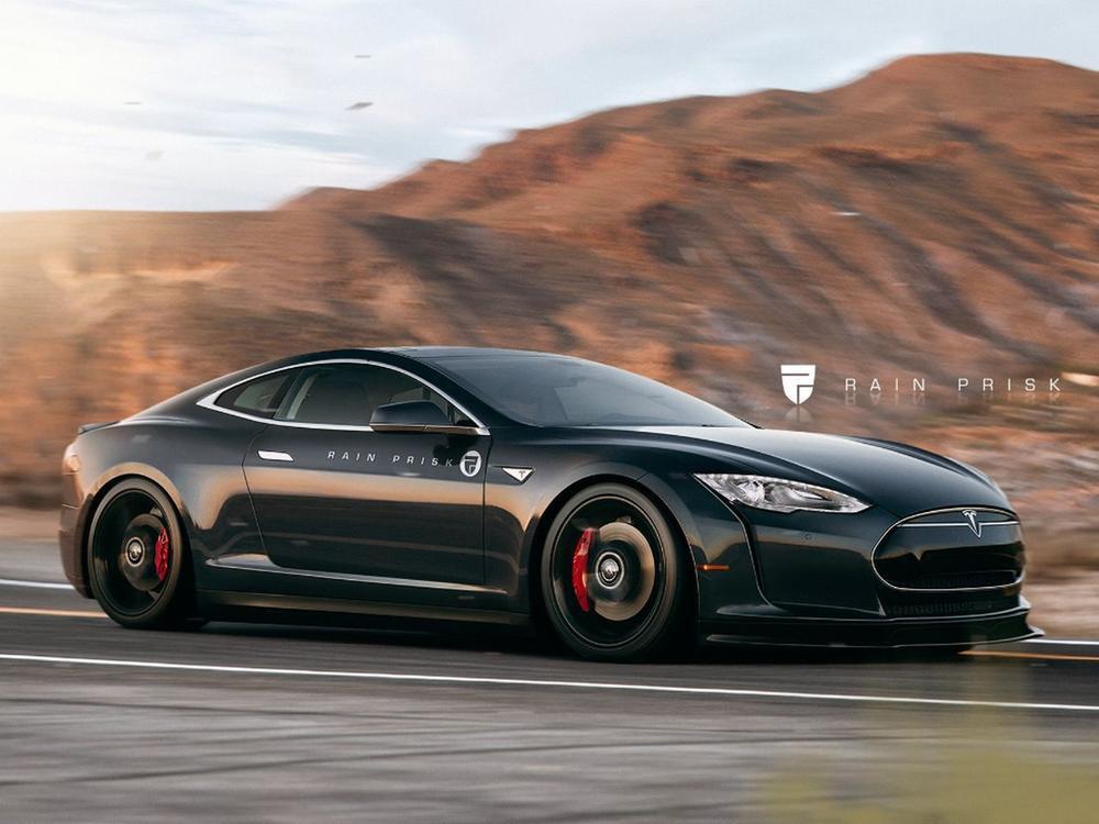Bild zu Tesla Model S Coupé