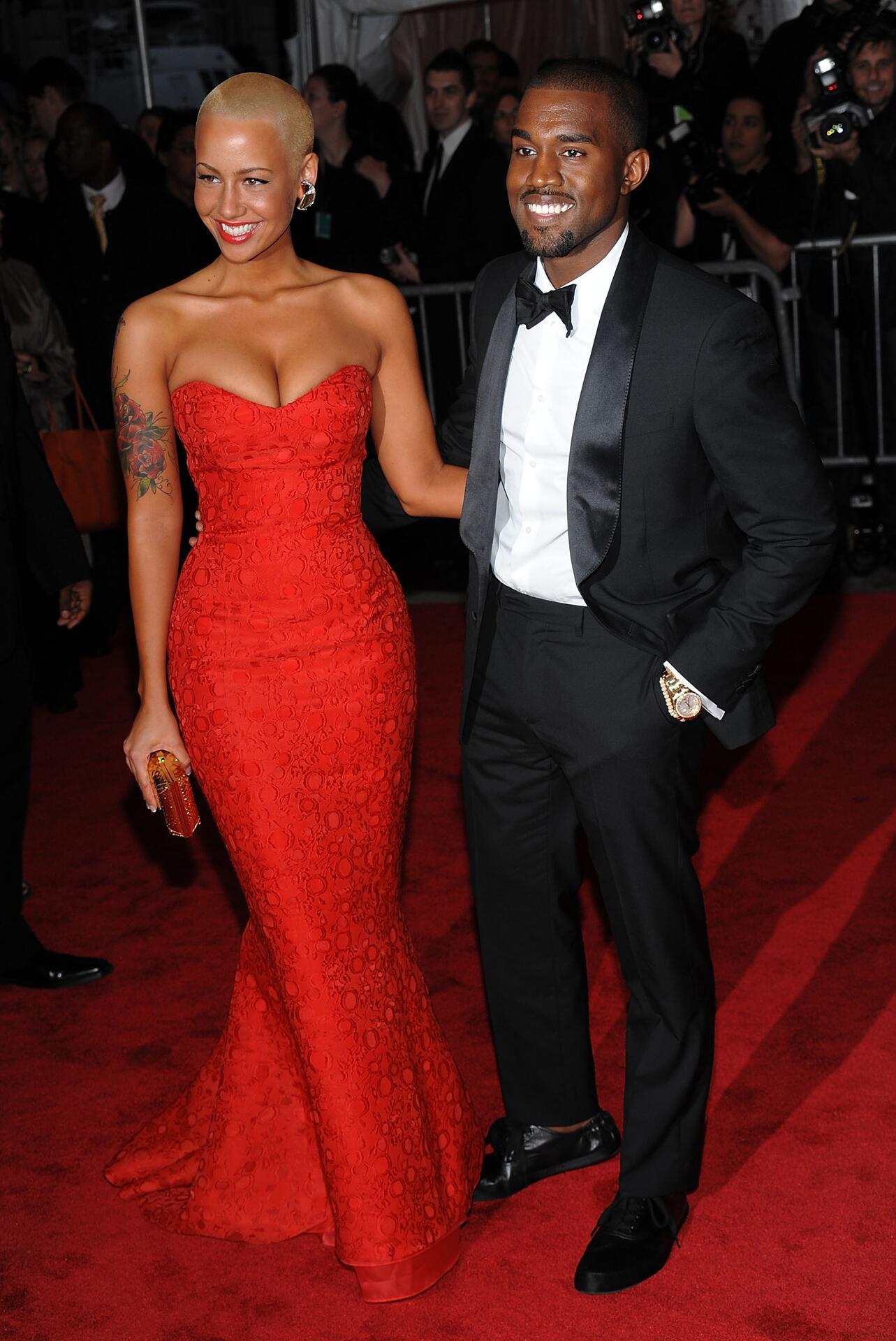 Bild zu Amber Rose, Kanye West