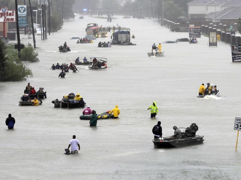 Bild zu Hurrikan «Harvey»