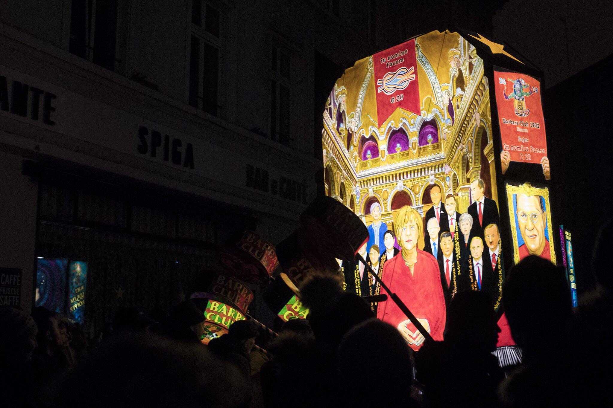 Bild zu «Morgestraich» in Basel