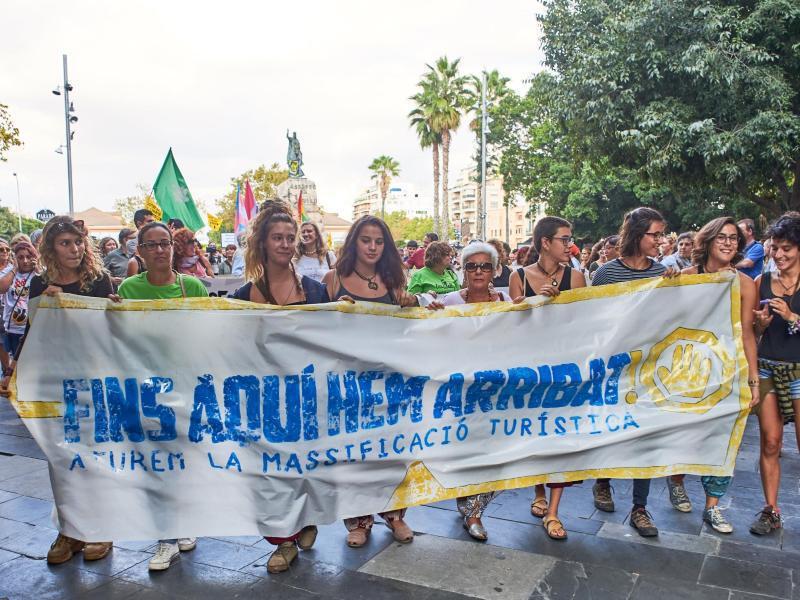 Bild zu Großdemo in Palma de Mallorca