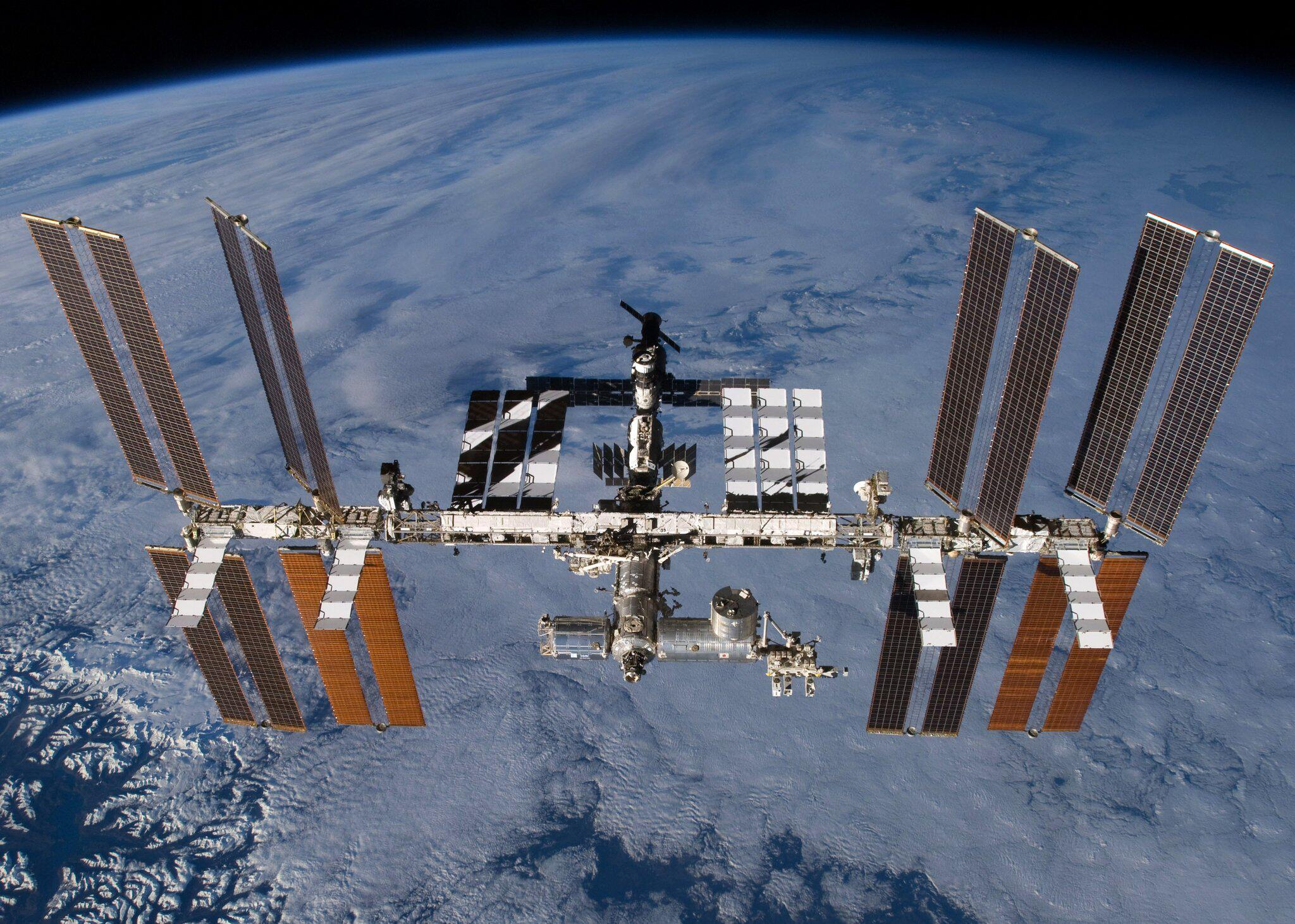 Bild zu Internationalen Raumstation ISS