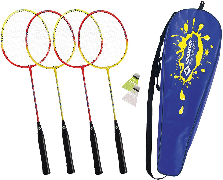 Bild zu garten, spaß, outdoor, federball, spiel, kinder, trampolin, gartenspaß, planschbecken