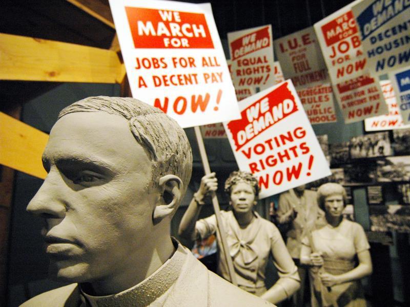 Bild zu Geschichte der Bürgerrechtsbewegung