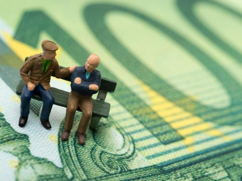 Bild zu Rentenauszahlung