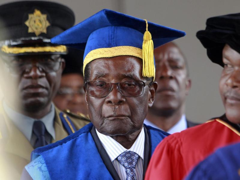 Bild zu Mugabe