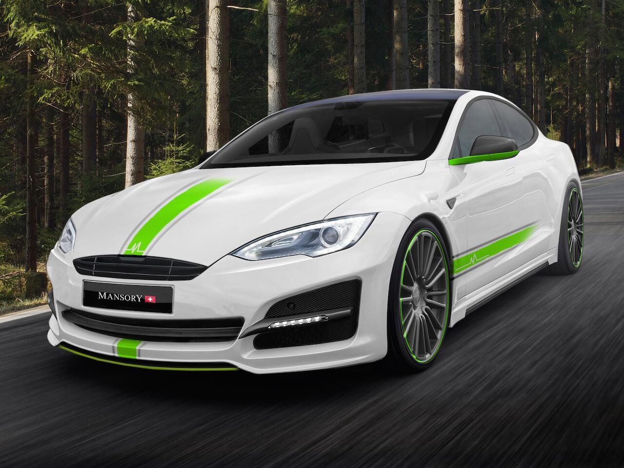 Bild zu Mansory Tesla Model S
