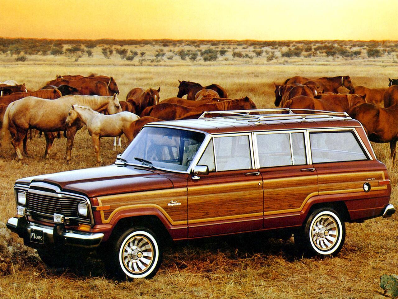 Bild zu Jeep Grand Wagoneer