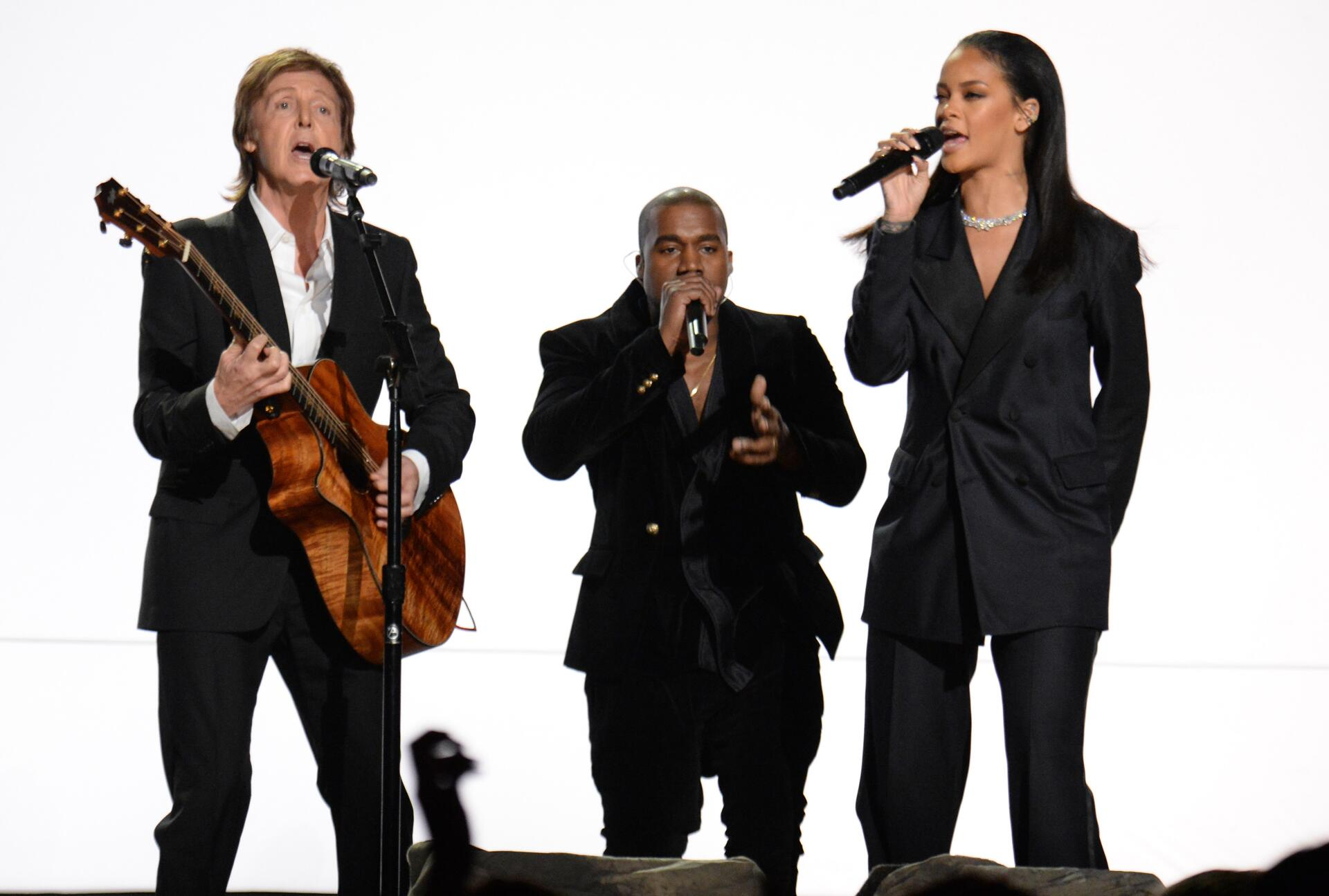 Bild zu Paul McCartney, Kanye West, Rihanna, Grammy Awards