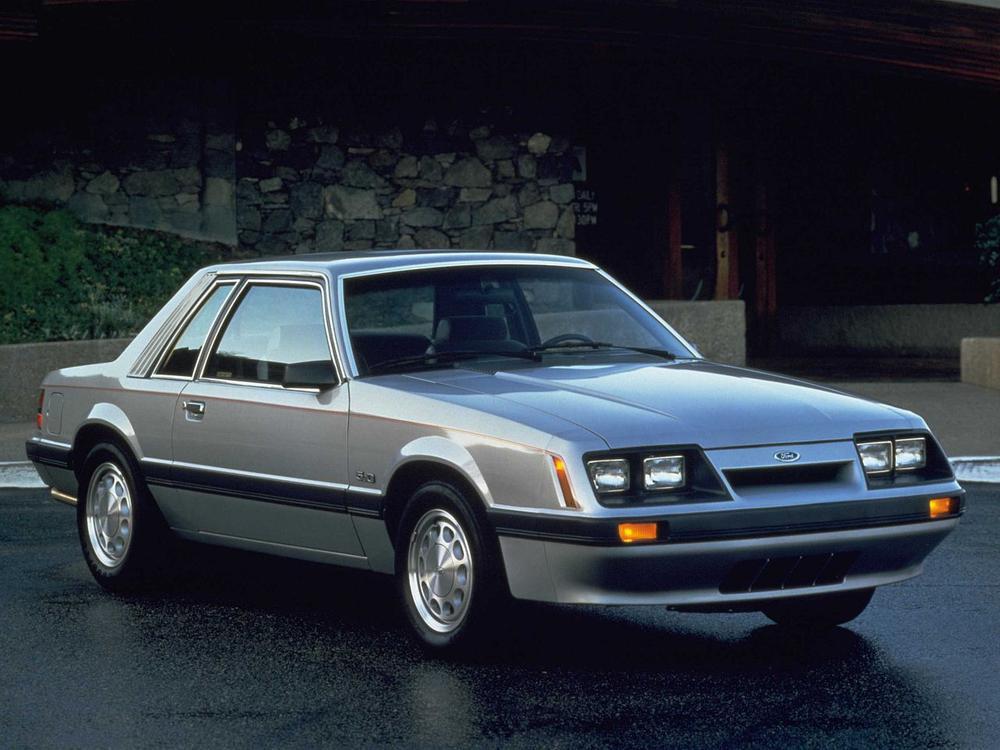 Bild zu Platz 2: Ford Mustang (Serie III.)