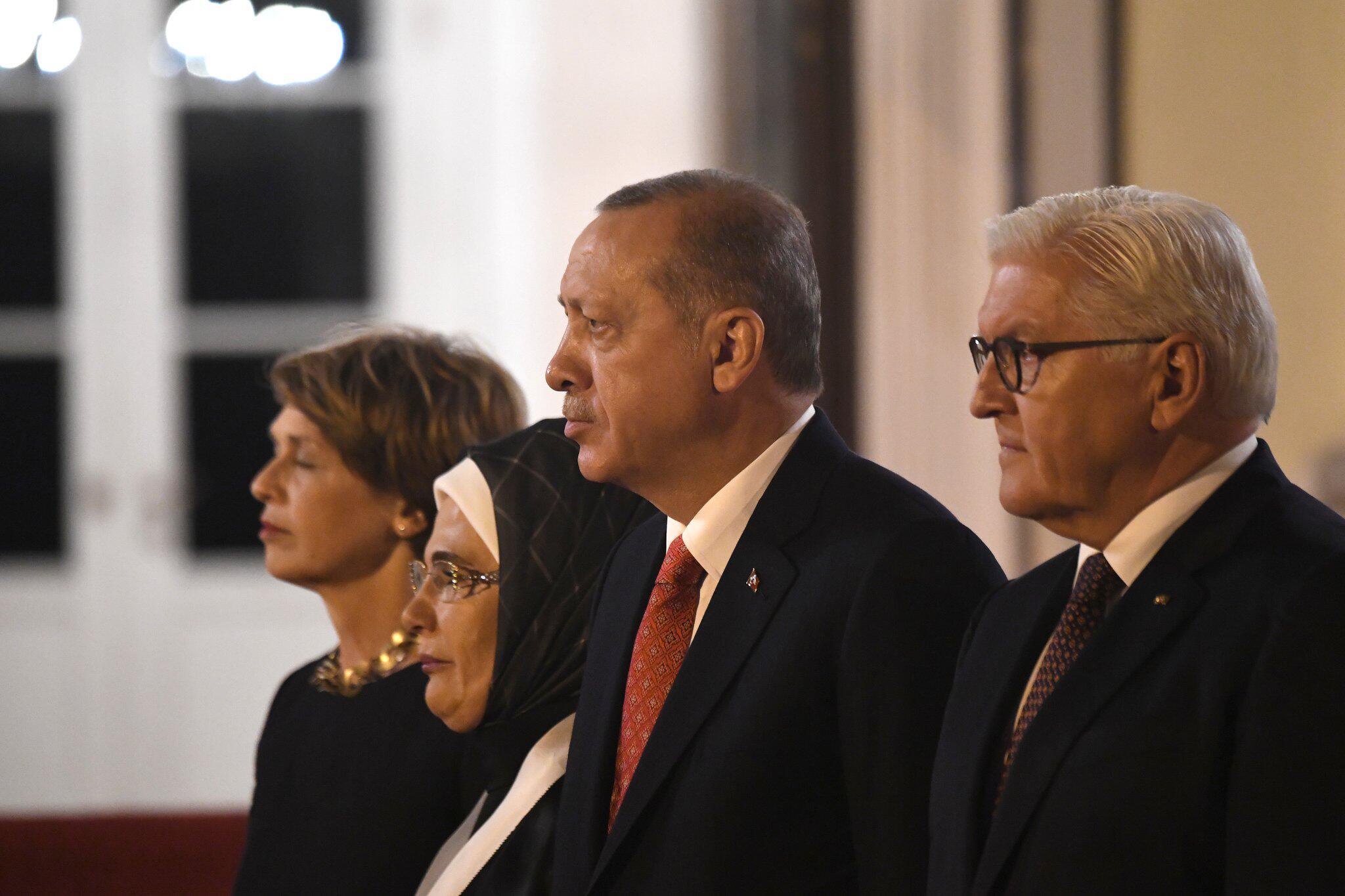 Bild zu Türkischer Präsident in Deutschland - Staatsbankett