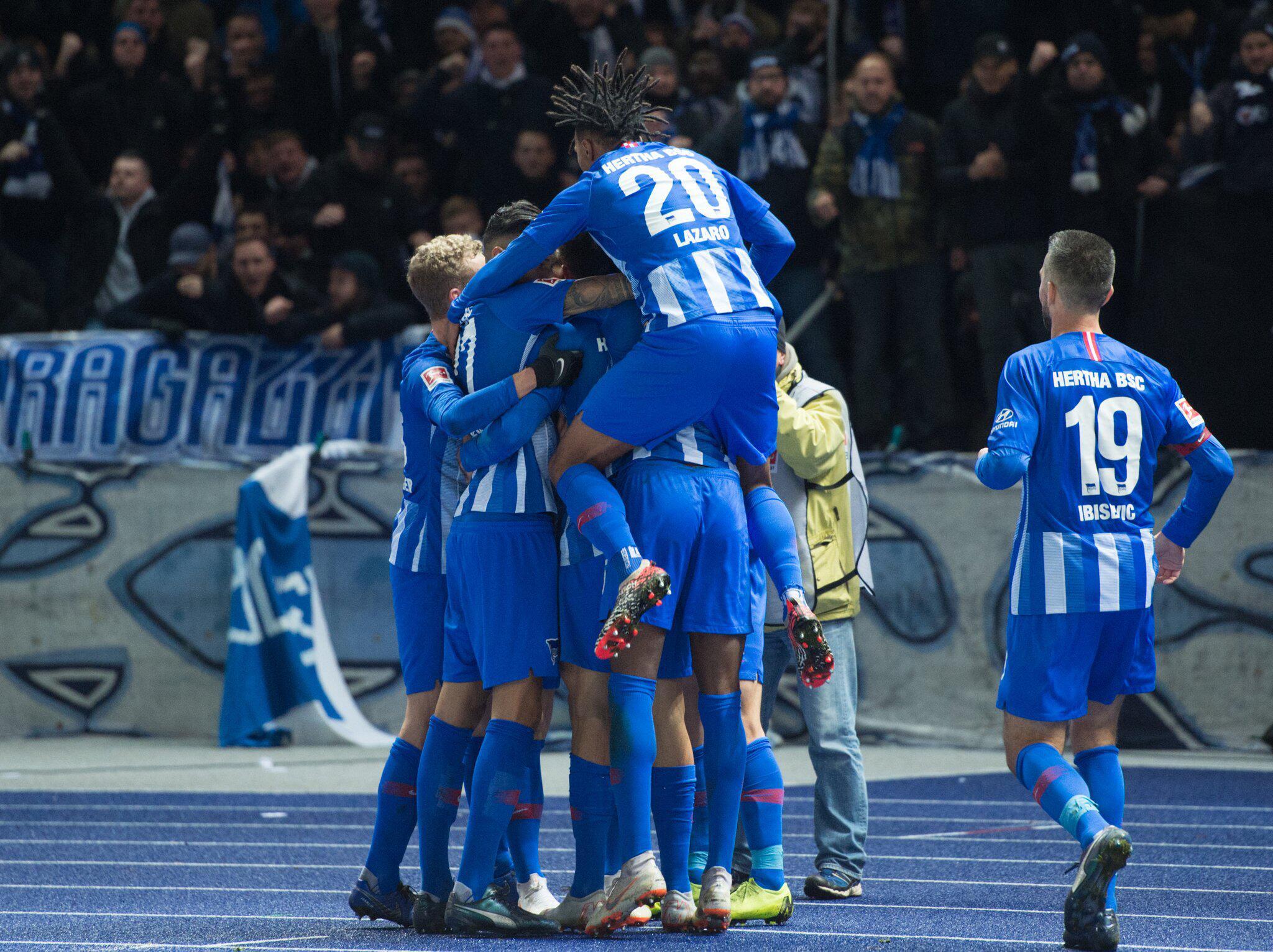 Bild zu Hertha BSC - Eintracht Frankfurt