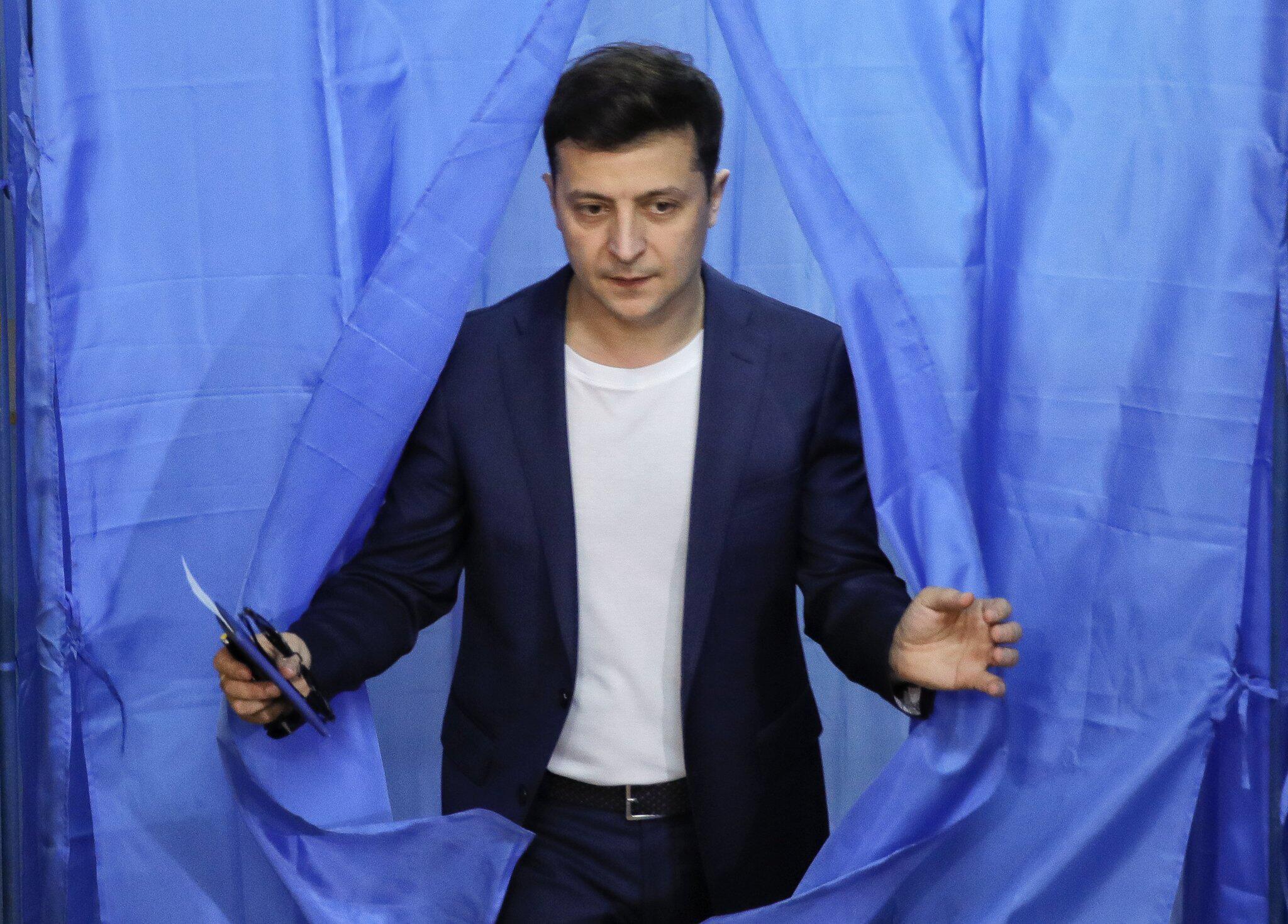 Bild zu Stichwahl um Präsidentenamt in der Ukraine