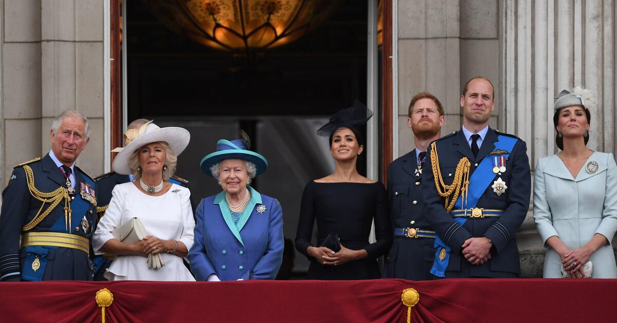 """""""Sie bleiben Teil der Familie"""": Die Queen akzeptiert Harrys und Meghans Rücktritt"""