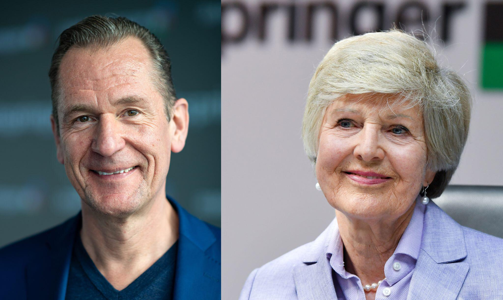 Axel Springer: Friede Springer benennt Döpfner als Nachfolger