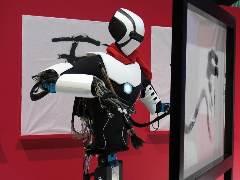 Bild zu Roboter empfängt Befehle über 5G