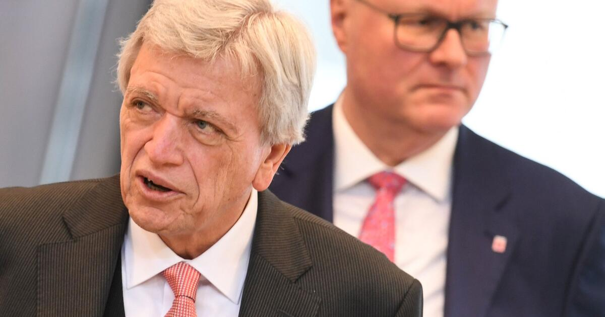 Ministerpräsident Volker Bouffier: