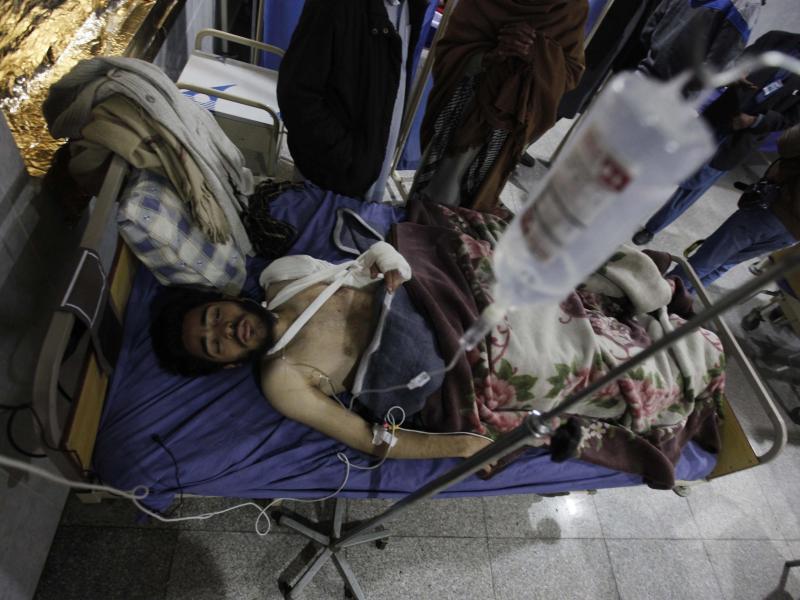Bild zu Opfer im Krankenhaus