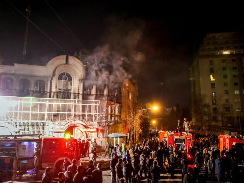 Bild zu Saudische Botschaft in Teheran