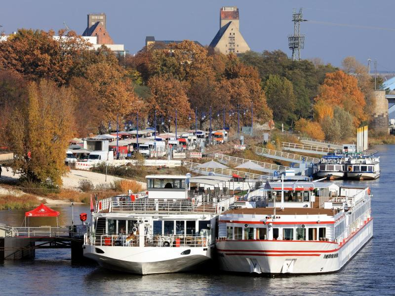 Bild zu Fahrgastschiffe in Magdeburg