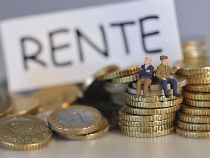 Bild zu Streit um die Rente