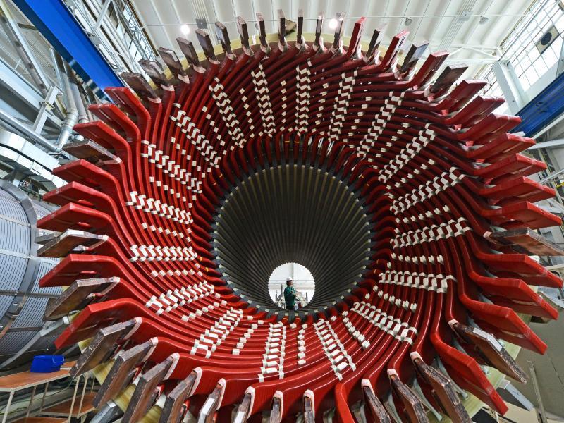 Bild zu Siemens-Generatorenwerk
