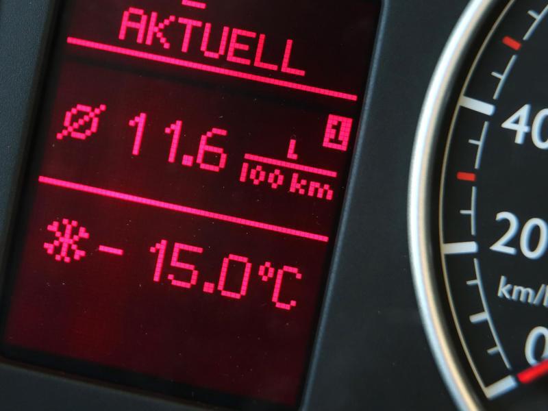 Bild zu Frostige Temperaturen