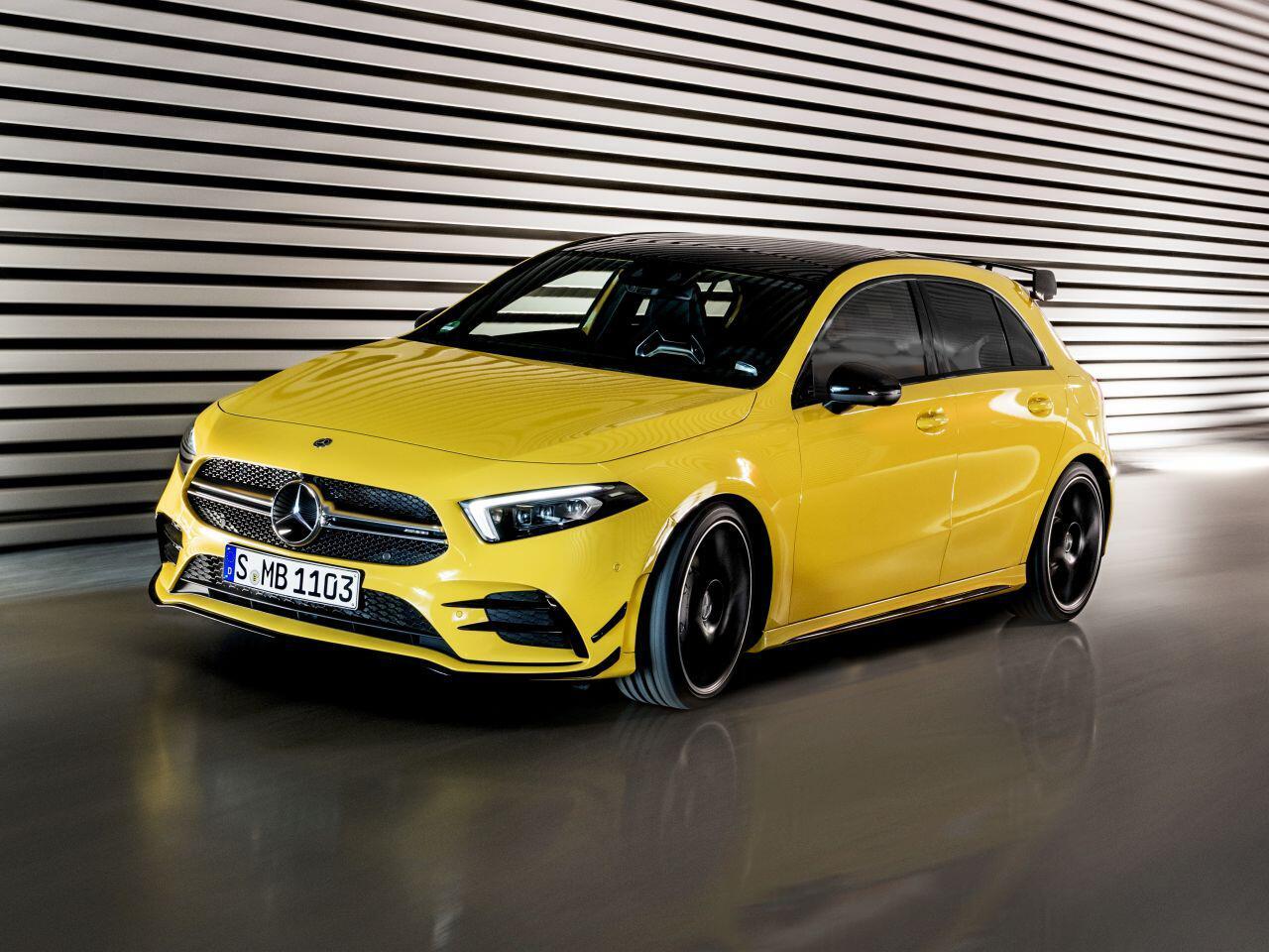 Bild zu Der neue Mercedes-AMG A 35 4MATIC: Einstieg in die Performance-Klasse