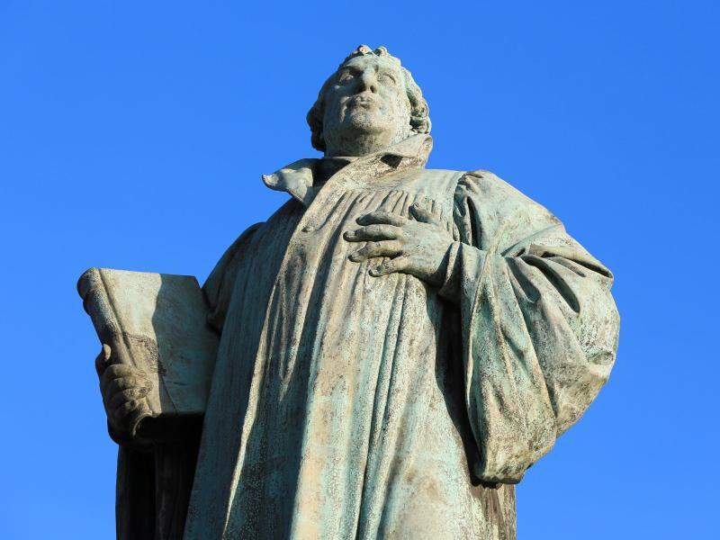 Bild zu Martin Luther Denkmal