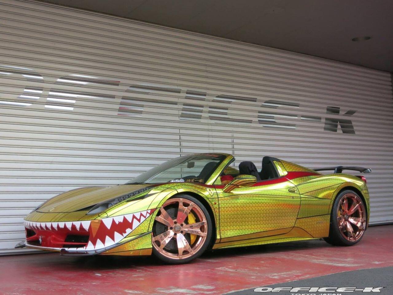 Bild zu Ferrari 458 Spider von Tuner Office-K